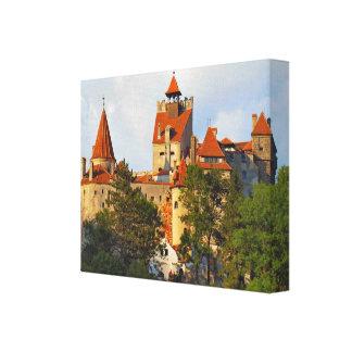 Rumania, el castillo de Drácula en el salvado Lona Envuelta Para Galerías