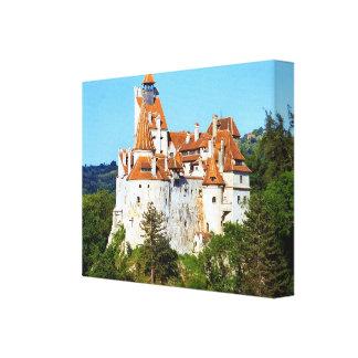 Rumania, el castillo de Drácula en el salvado, Tra Lienzo Envuelto Para Galerías
