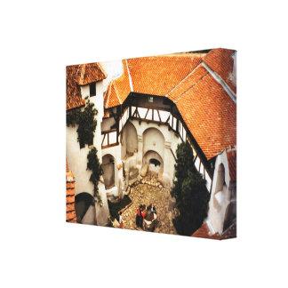 Rumania, el castillo de Drácula en el salvado, Tra Lona Envuelta Para Galerías