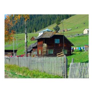 Rumania, el Moldavia, cortijo rural Postal
