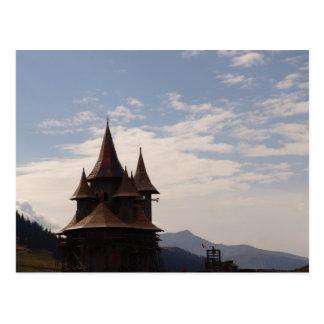 Rumania, el Moldavia, iglesia ortodoxa Postal