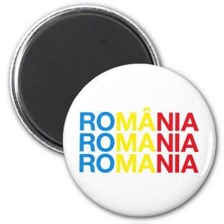 RUMANIA IMÁN REDONDO 5 CM