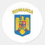 Rumania Pegatinas Redondas