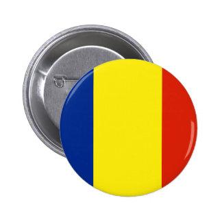 Rumania Pin Redondo De 2 Pulgadas