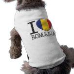 Rumania Playera Sin Mangas Para Perro