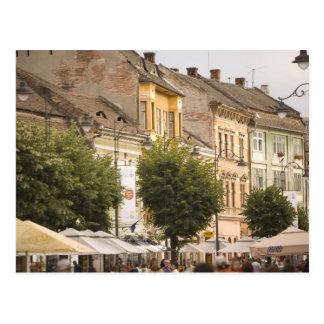 Rumania, Sibiu. Nueva ciudad. RF) Postal