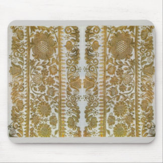 Rumanian traditional embroidery, gold mouse pad