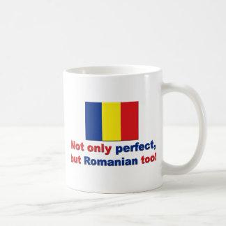 Rumano perfecto taza básica blanca