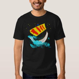 Rumb de Catalunya Nau una camiseta de Ítaca Playeras