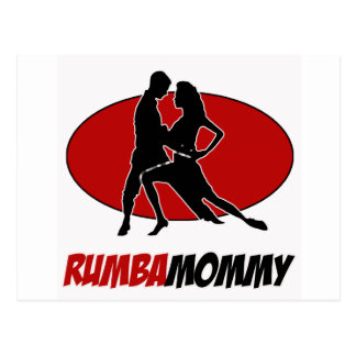rumba DANCE DESIGNS Postcard