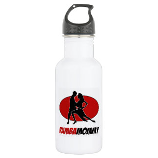 rumba DANCE DESIGNS Stainless Steel Water Bottle
