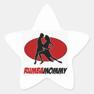 rumba DANCE DESIGNS Star Sticker