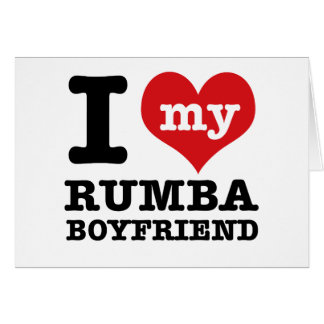 Rumba dance gear card