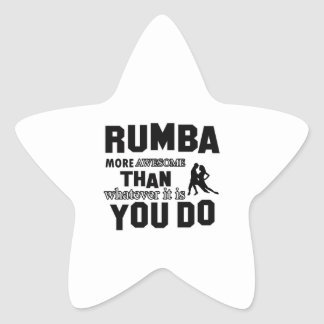 rumba more awesome than whatever it is you do star sticker