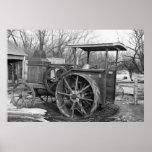 Rumely anticipado Tractor, 1936 Impresiones