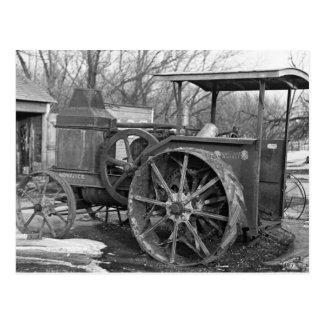 Rumely anticipado Tractor, 1936 Postal