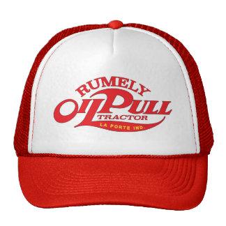 Rumely Oil Pull Kerosene Engine Antique Tractor Trucker Hat