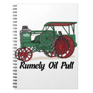 Rumely Oil Pull Tractor Notebook
