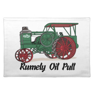 Rumely Oil Pull Tractor Placemat