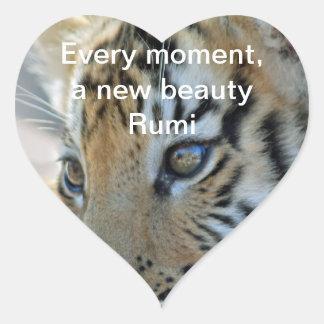 Rumi Beauty Heart Sticker