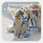 Rumi Beauty Square Sticker