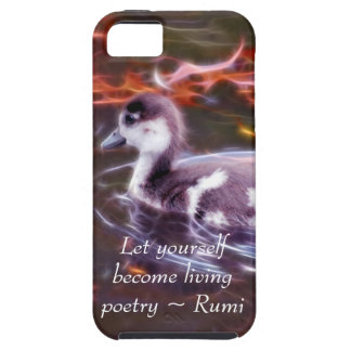 Rumi become living poetry iPhone 5 cases
