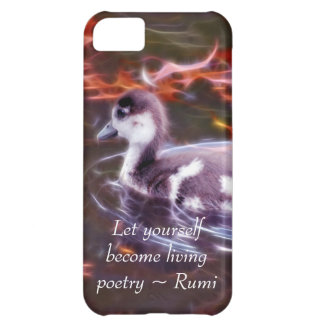 Rumi become living poetry case for iPhone 5C