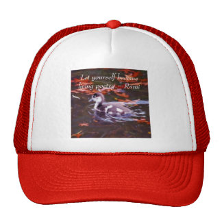 Rumi become living poetry hat