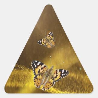 Rumi Fall in love again Triangle Sticker