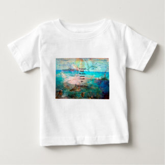 Rumi Inspiration Quote About The Universe Baby T-Shirt