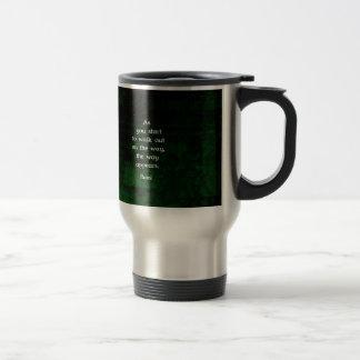 Rumi Inspirational Having Faith Quote Coffee Mug