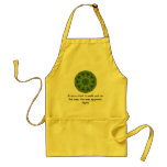 Rumi Inspirational Quotation Saying about Faith Apron