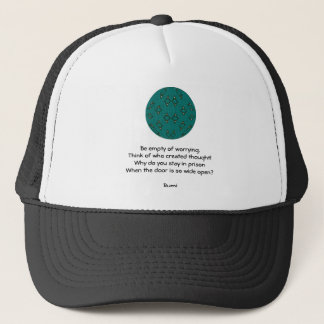 Rumi Inspirational quote With Tribal Design Trucker Hat