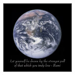 Rumi Love Earth Poster