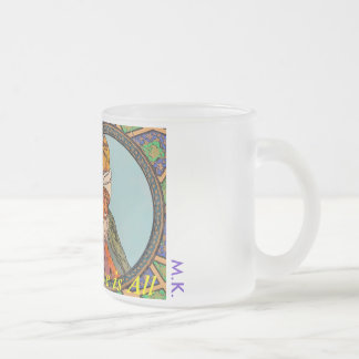 Rumi - Love is All 10 Oz Frosted Glass Coffee Mug