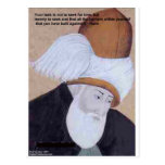 "Rumi ""Obstacles Of Love"" Quote On Gifts Tees Cards Post Card"