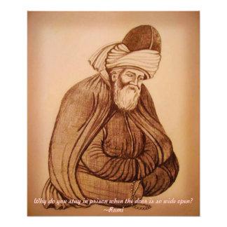 Rumi Photo Print