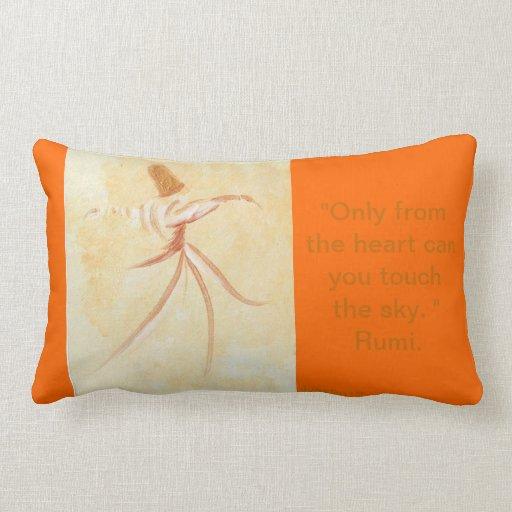 Rumi Pollow case Throw Pillow