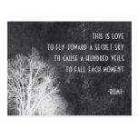 Rumi quote post cards