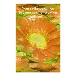 Rumi Radiance Custom Stationery