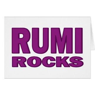 Rumi Rocks Card