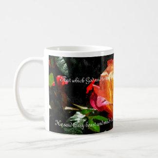 Rumi Rose Cup Classic White Coffee Mug