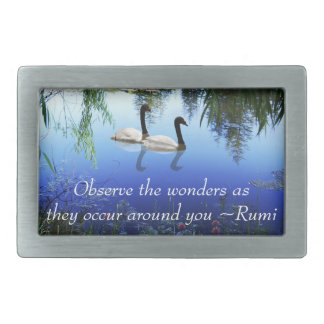 Rumi The wonders Rectangular Belt Buckles