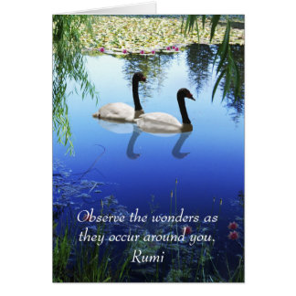 Rumi The wonders Card