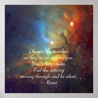 Rumi The wonders Posters