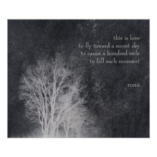 """rumi """"this is love"""" poetry quote posters"""
