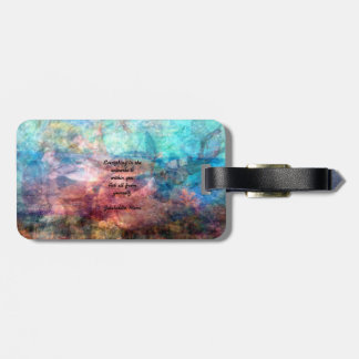 Rumi Uplifting Quote About Energy And Universe Bag Tag