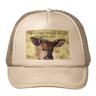 Rumi Wherever you stand Mesh Hat