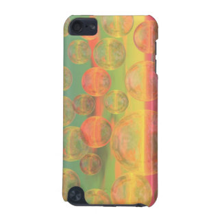 Rumias del otoño - oro y gloria color de rosa funda para iPod touch 5G