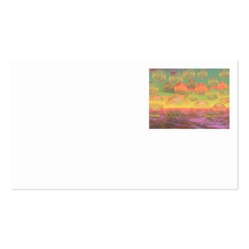 Rumias del otoño - oro y gloria color de rosa tarjetas de visita
